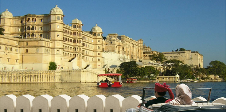 Udaipur, towards Taj Lake Palace